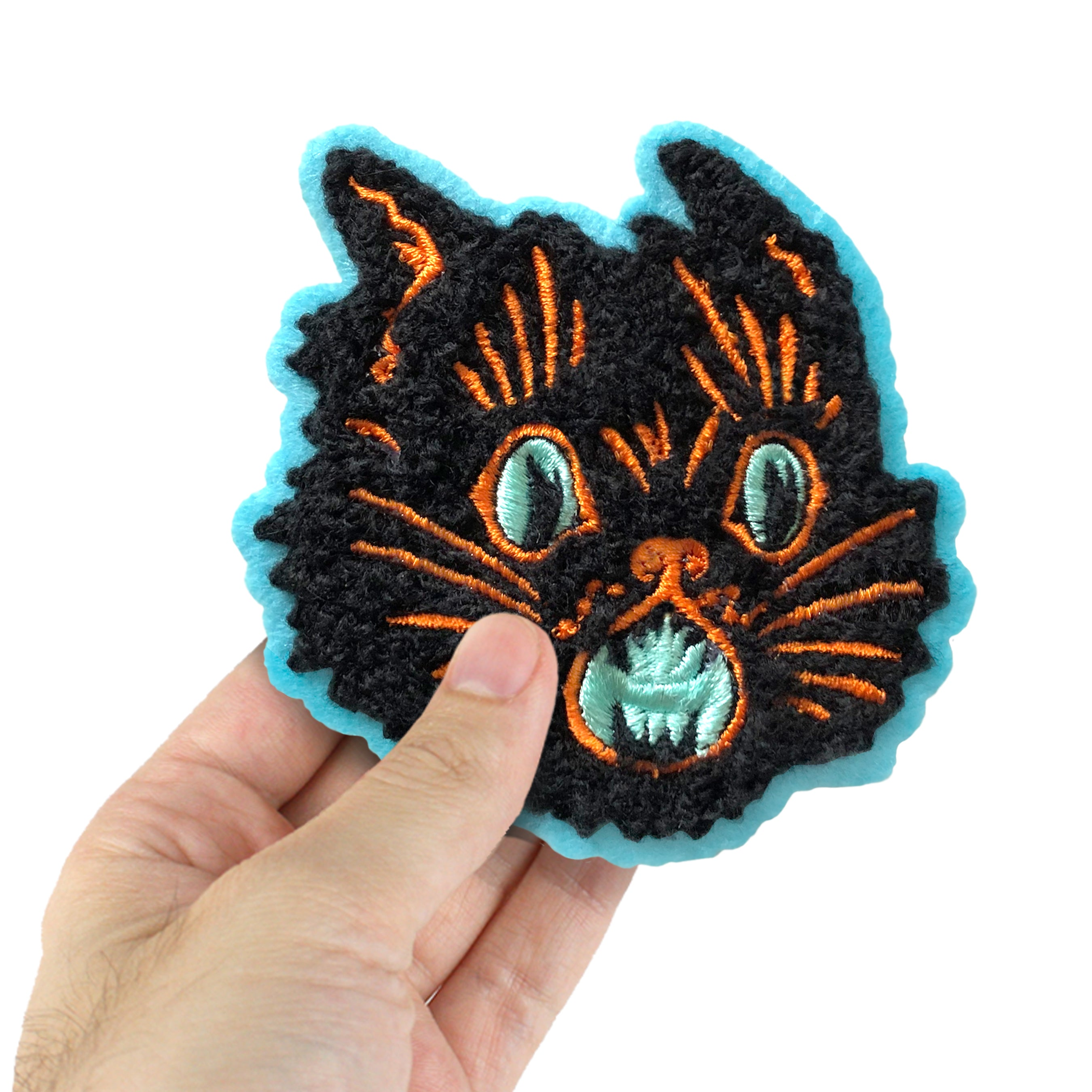 Beistle Scratch Cat Chenille Patch