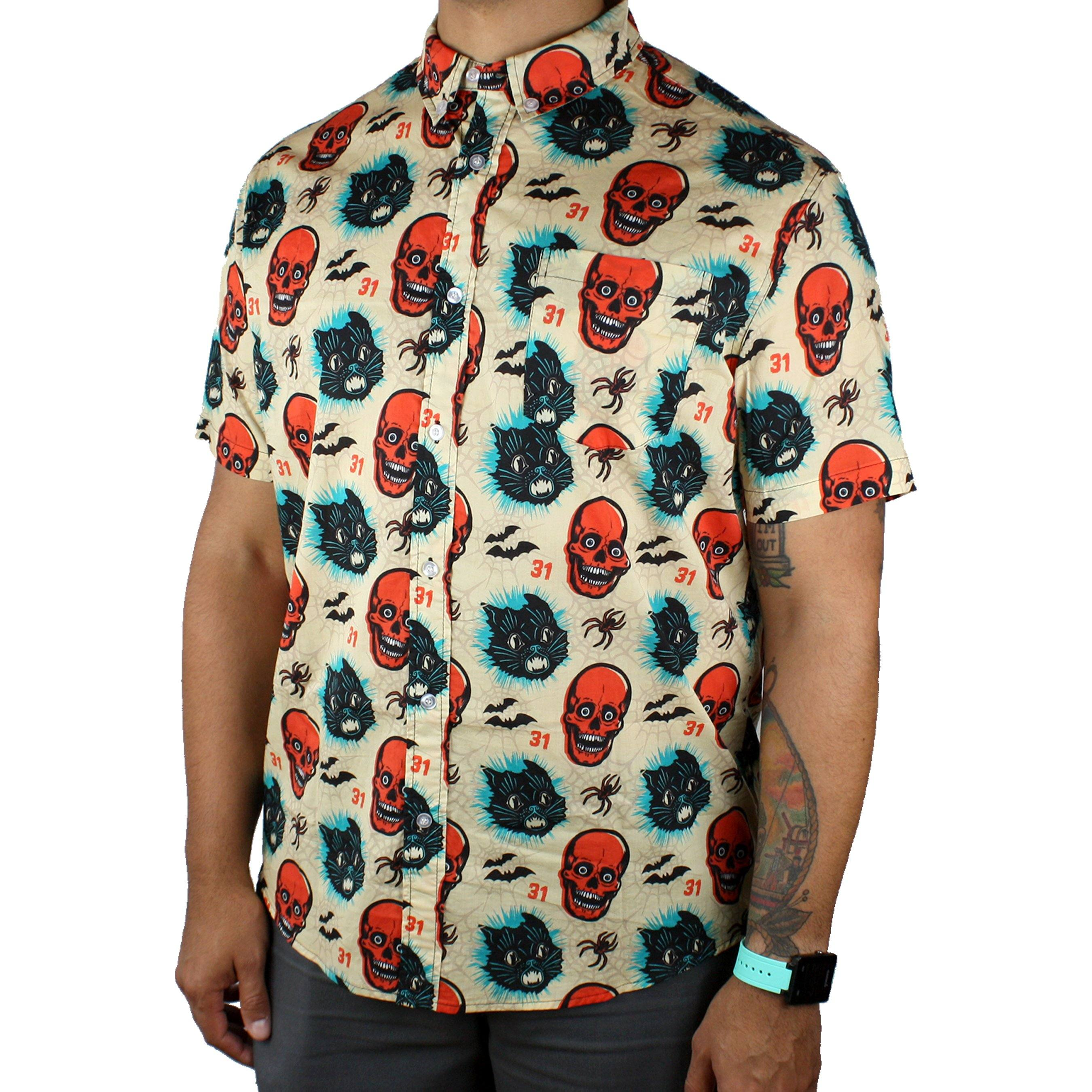 Beistle® Simply Spooky Button-Up Shirt