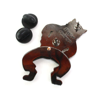 Beistle® Swinging Cat Deluxe Enamel Pin