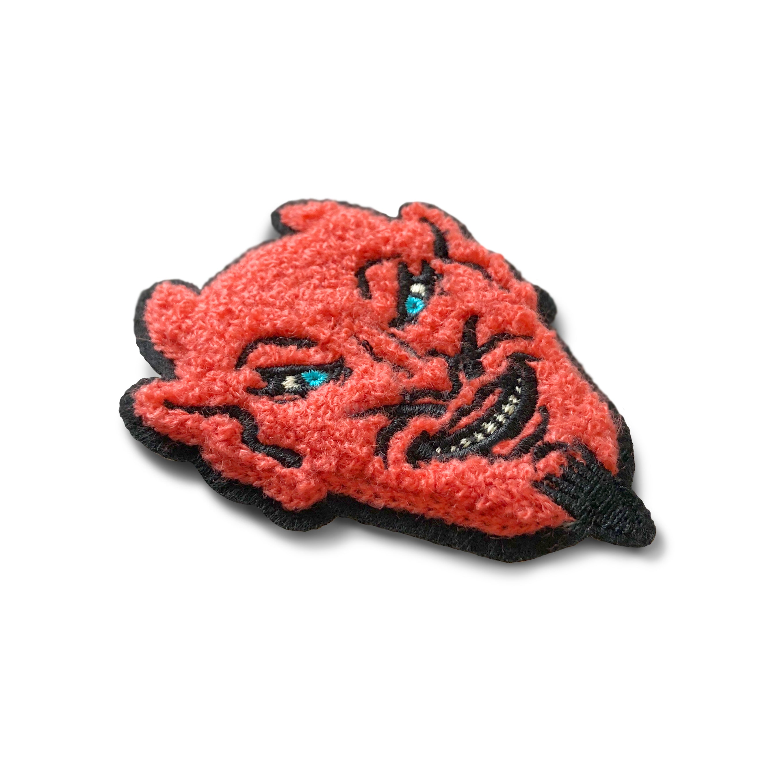 Beistle Devil Mask Chenille Patch