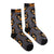 Beistle® Scratch Cat Socks - Gray Variant