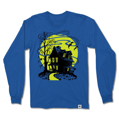 Beistle® Haunted House Long Sleeve Shirt - Creepy Co.