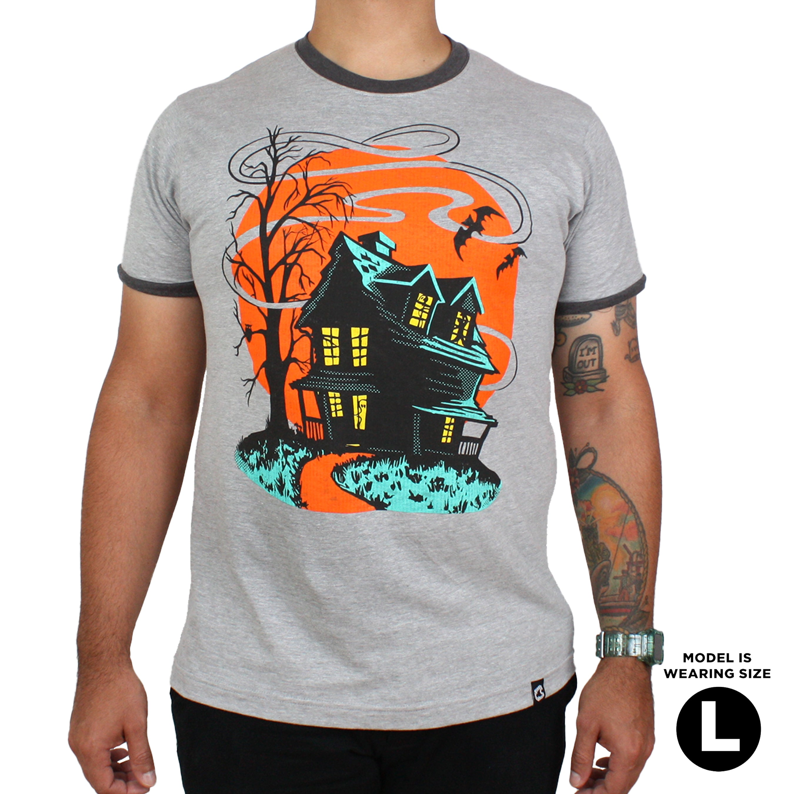 Beistle Haunted House Ringer Tee