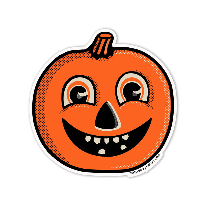 Beistle® Happy Jack-o-Lantern Sticker - Creepy Co.