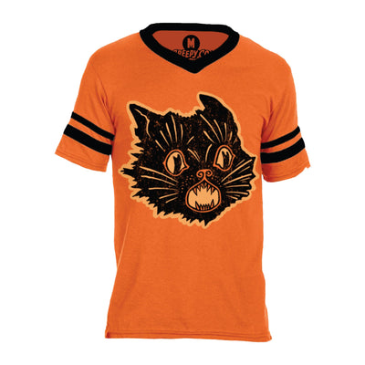 Beistle® Orange Scratch Cat Jersey Tee