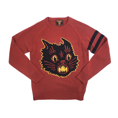 Beistle® Scratch Cat Knit Sweater