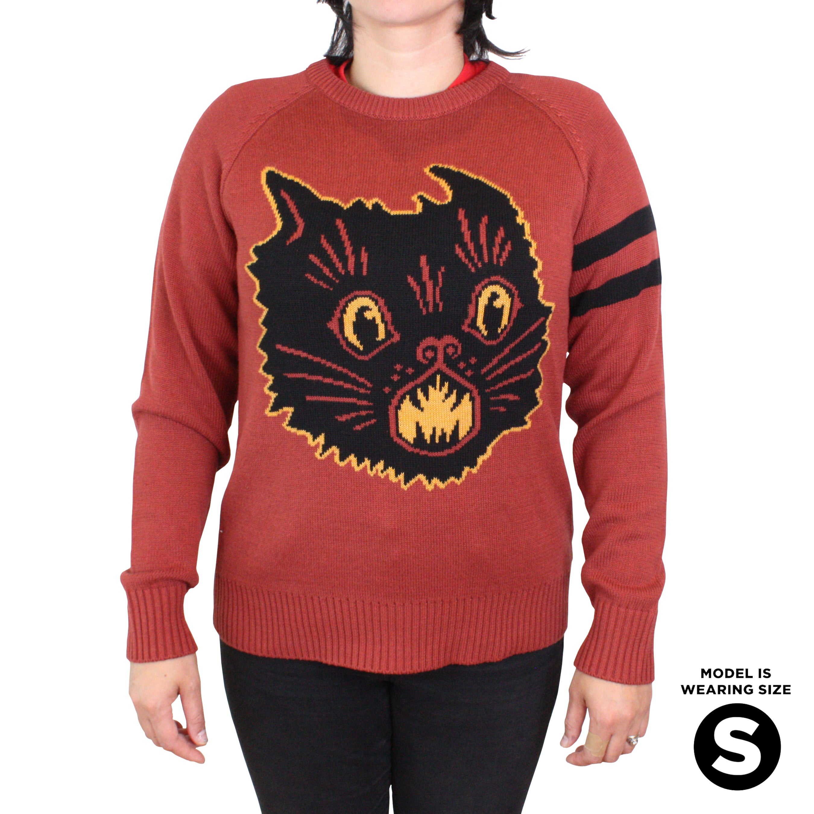 Beistle Scratch Cat Knit Sweater