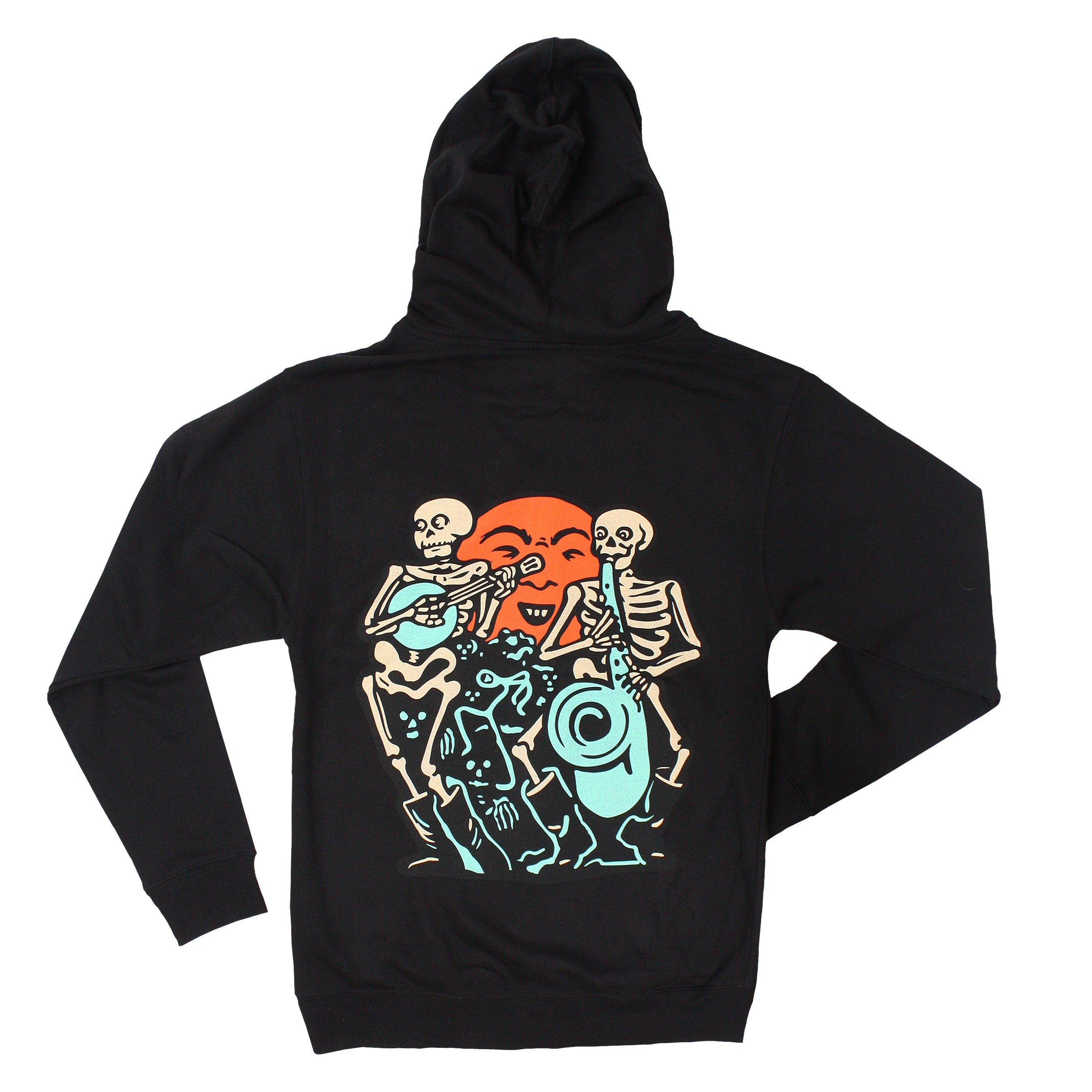 Beistle® Skeleton Band Special Edition Zip Hoodie