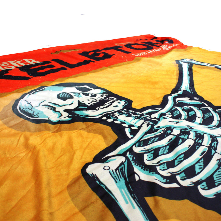 Beistle® Monster Skeleton Fleece Throw Blanket