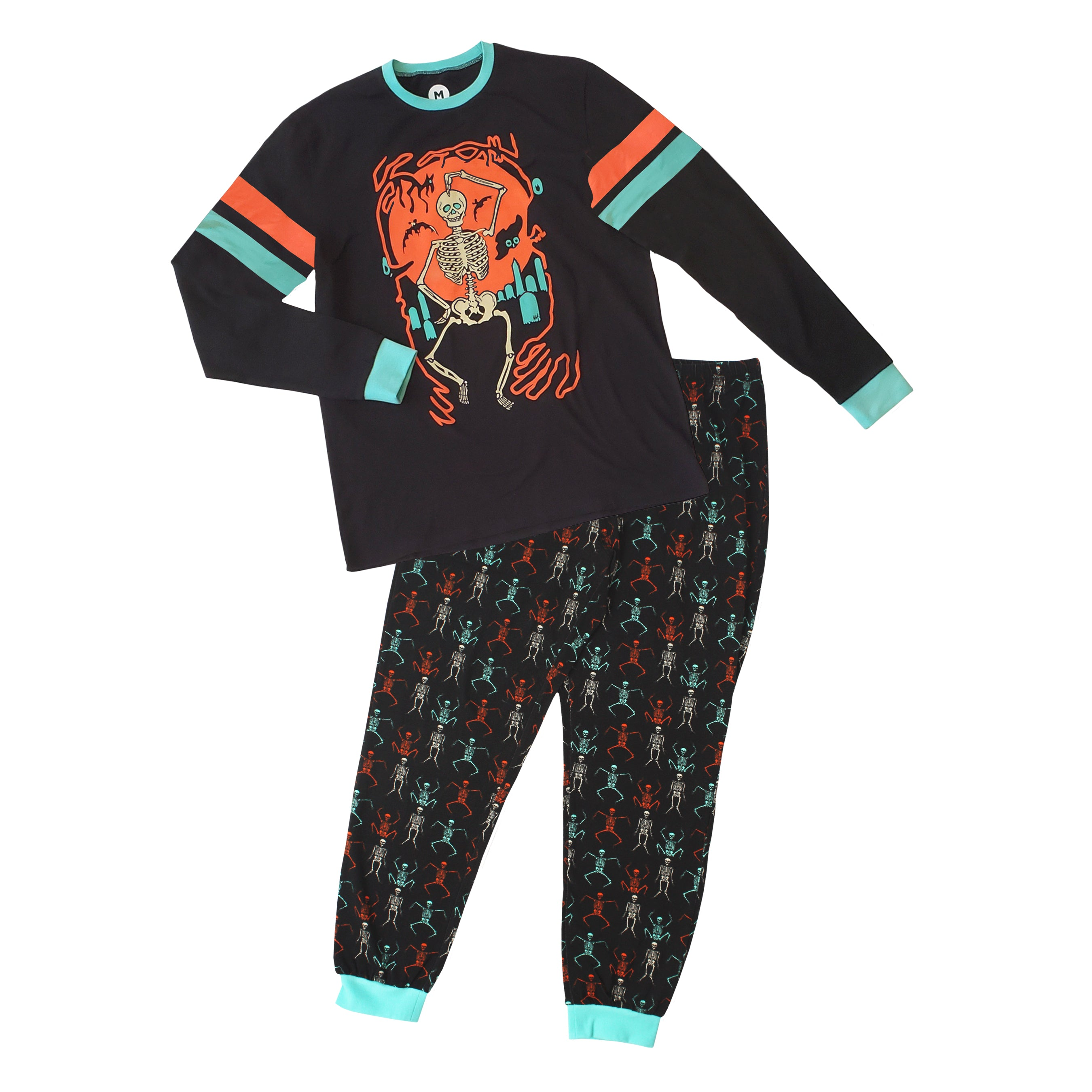 Beistle® Skeleton Graveyard Pajama Set
