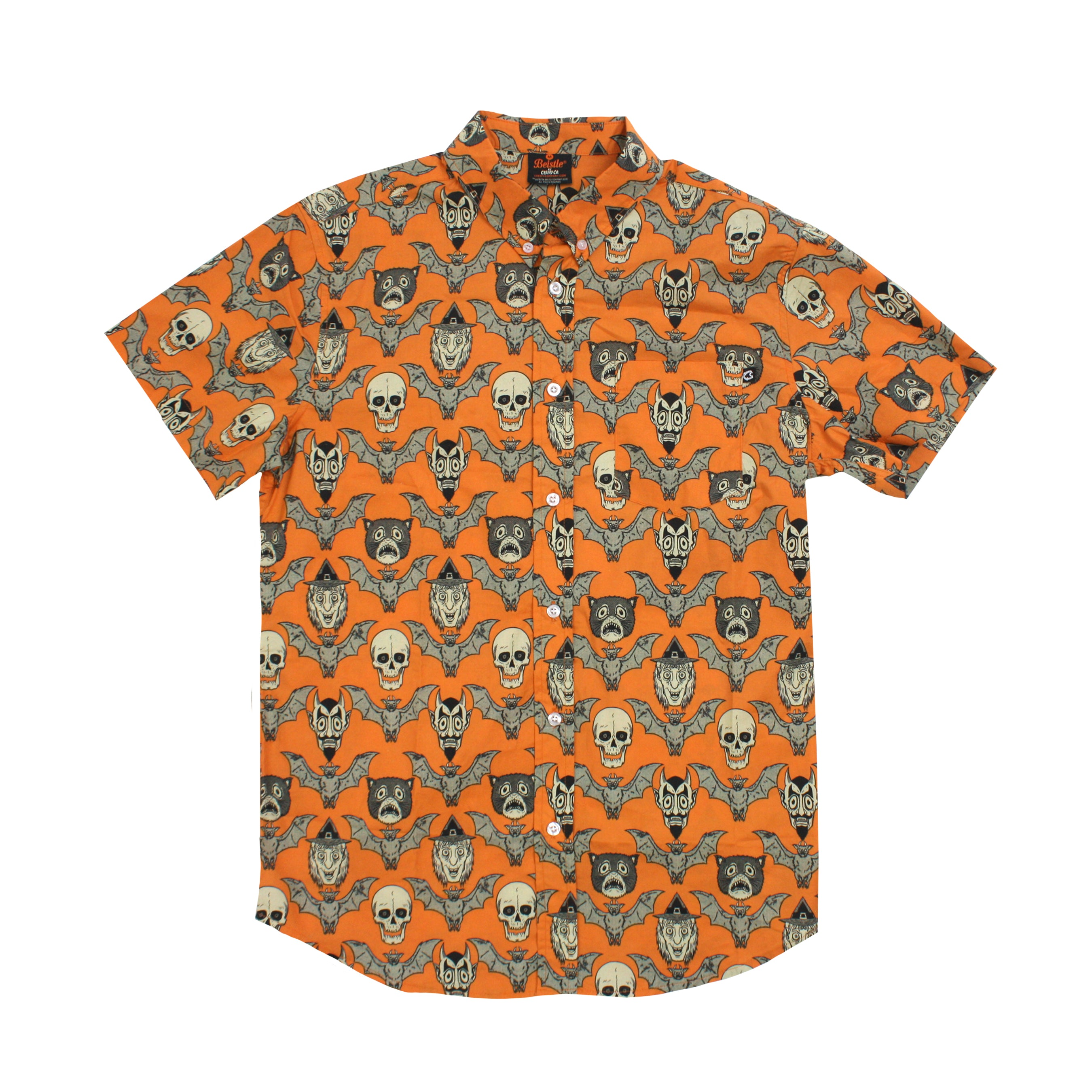 Beistle Vintage Fright Button-up Shirt