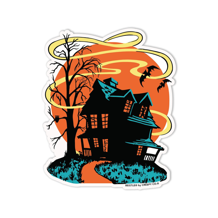 Beistle® Halloween House Sticker - Creepy Co.