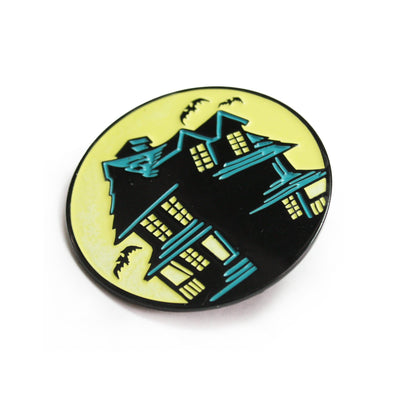Beistle® Haunted House Enamel Pin