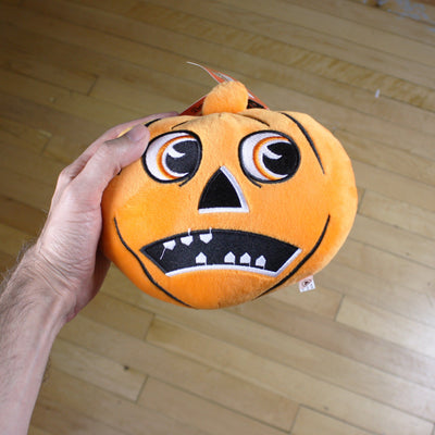 Beistle® Scaredy Jack-O-Lantern Collectible Plush - Creepy Co.