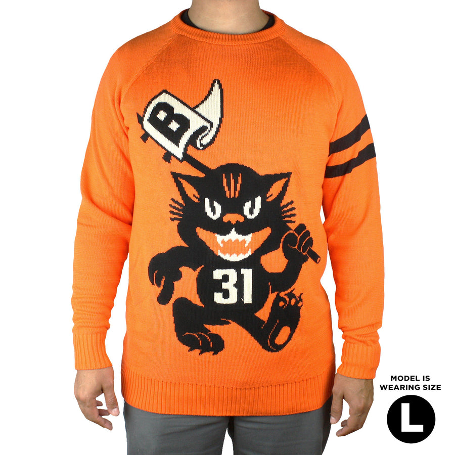 Beistle® Fighting Scratch Cats Knit Sweater