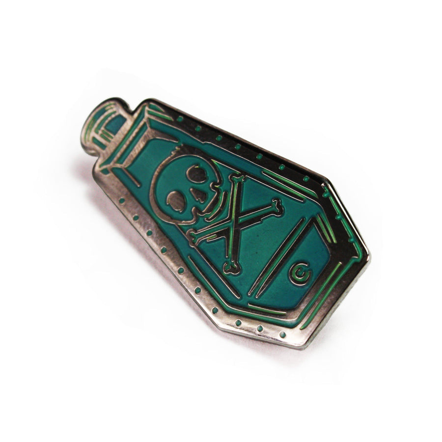 Replica Poison Bottle Enamel Pin