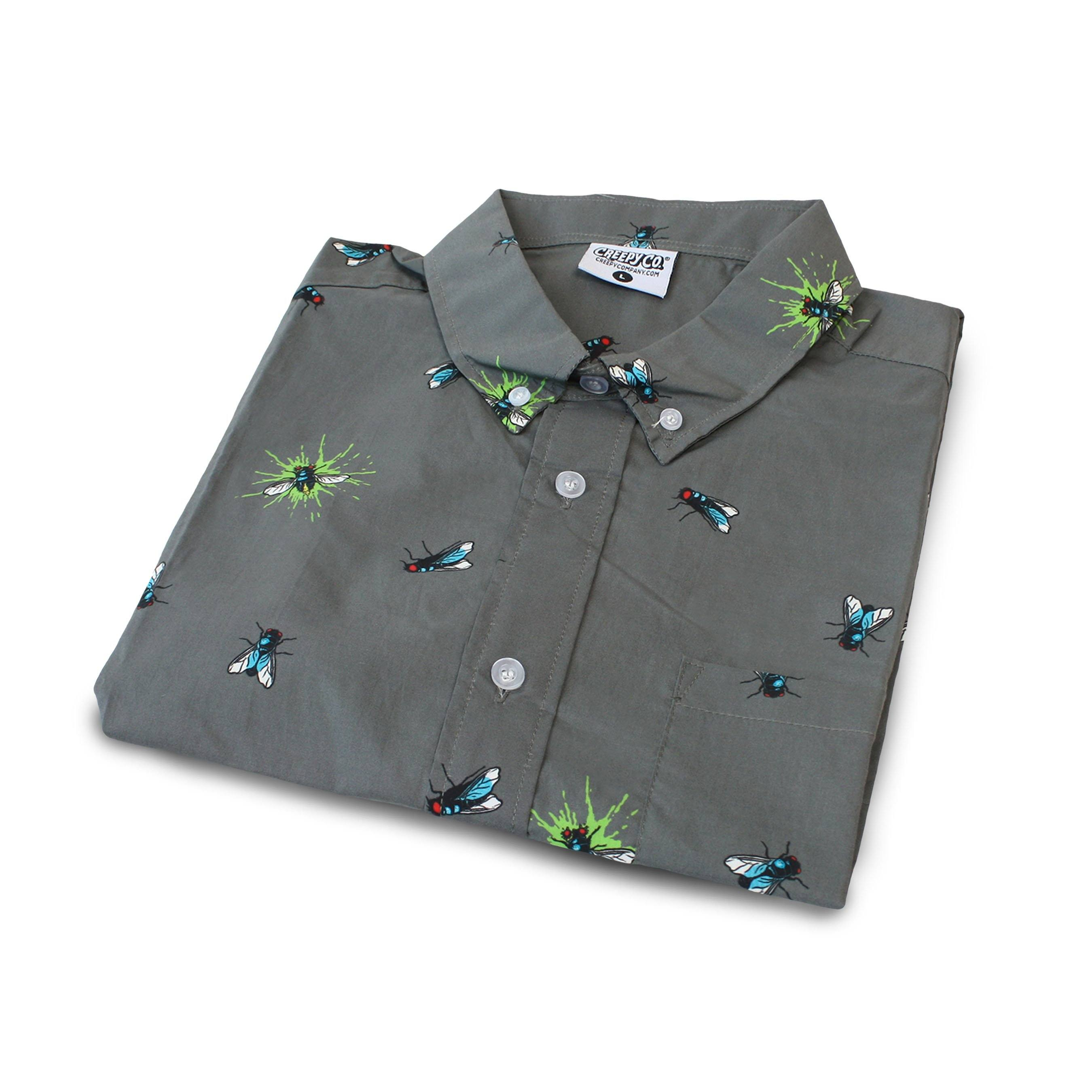 Buzz Off Button-Up Shirt