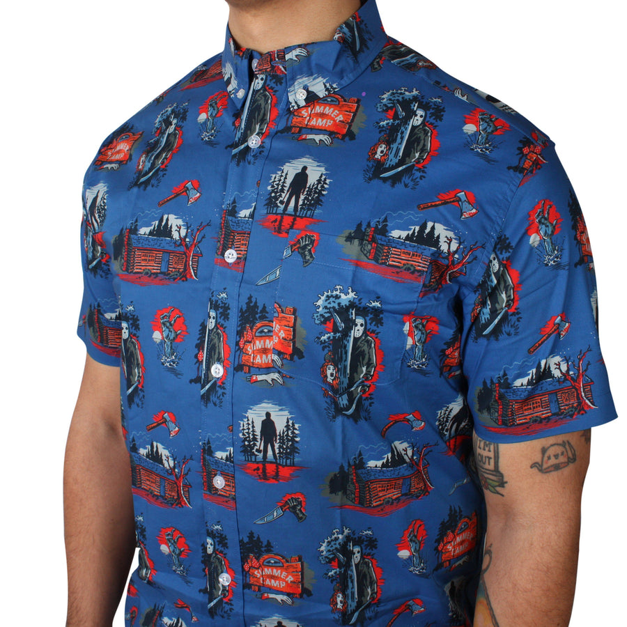 Camp Slasher Button-Up Shirt