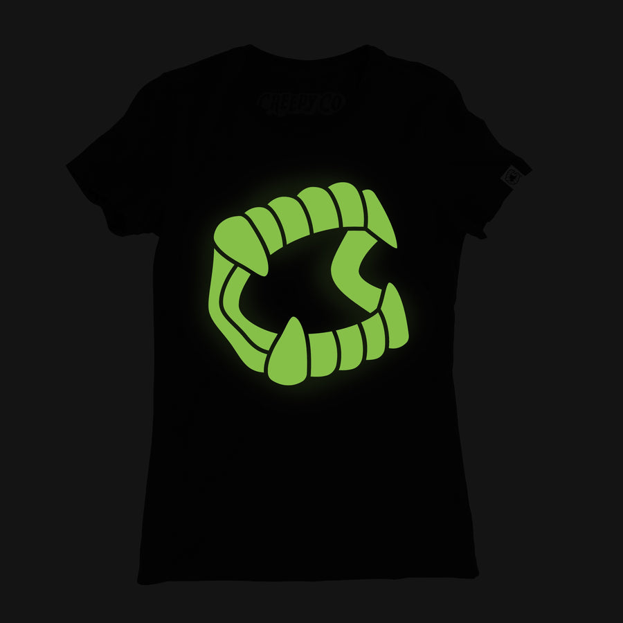 Glow-in-the-Dark Chompers® Ladies Tee