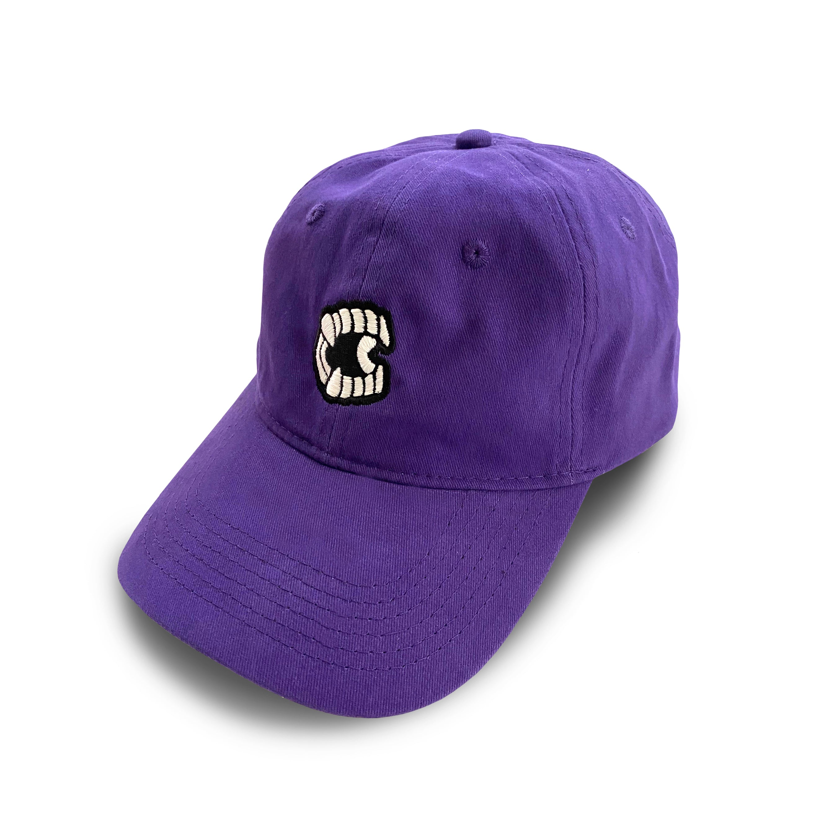 Purple Chompers Glow-in-the-Dark Dad Hat