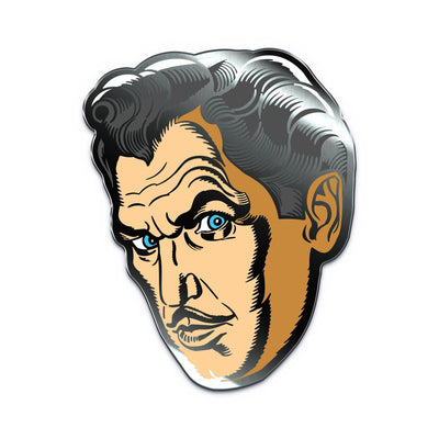 Vincent Price Classic Enamel Pin - Creepy Co.