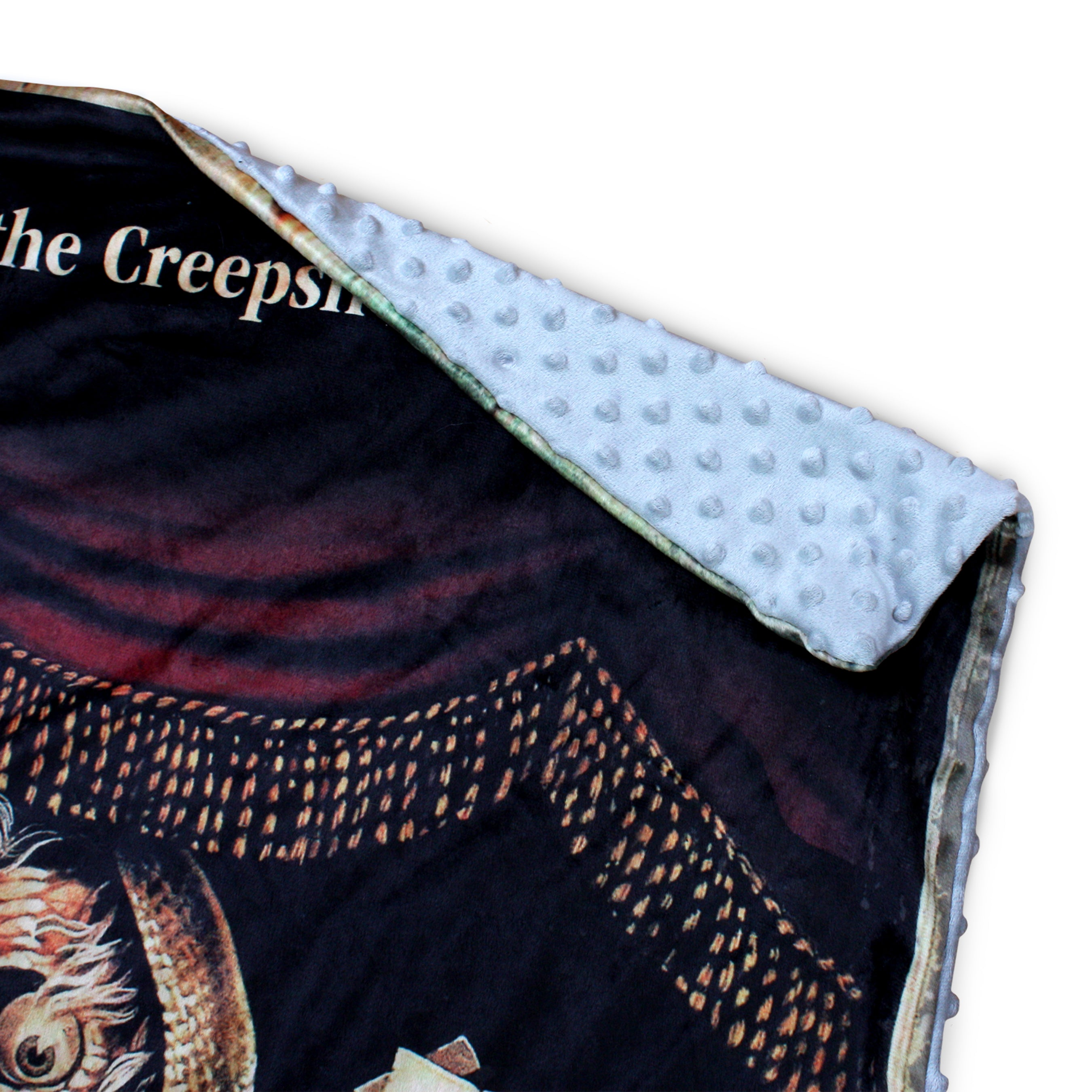 Creepshow VHS Throw Blanket