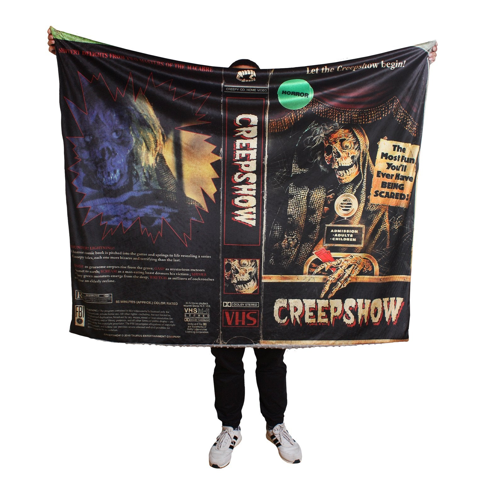 "Creepshow® Blanket & Plush ""Scare"" Package"