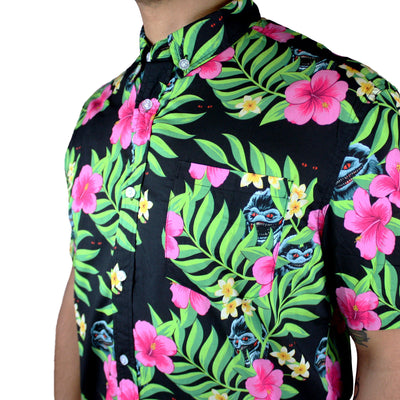 Luau Lurkers Button-Up Shirt