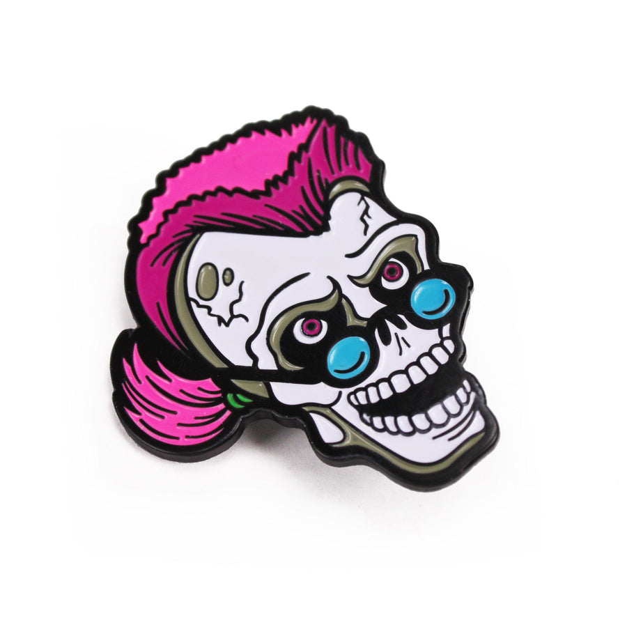Goosebumps® Curly the Skeleton Enamel Pin