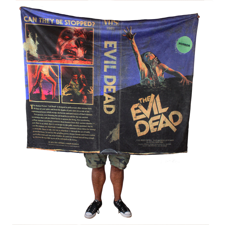 "Evil Dead® Blanket & Plush ""Scare"" Package"