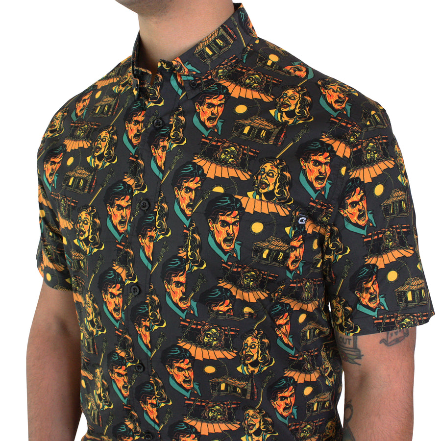 "Evil Dead Button-Ups ""Scare"" Package"