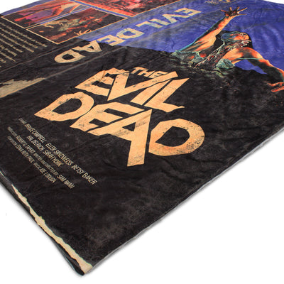 Evil Dead VHS Throw Blanket