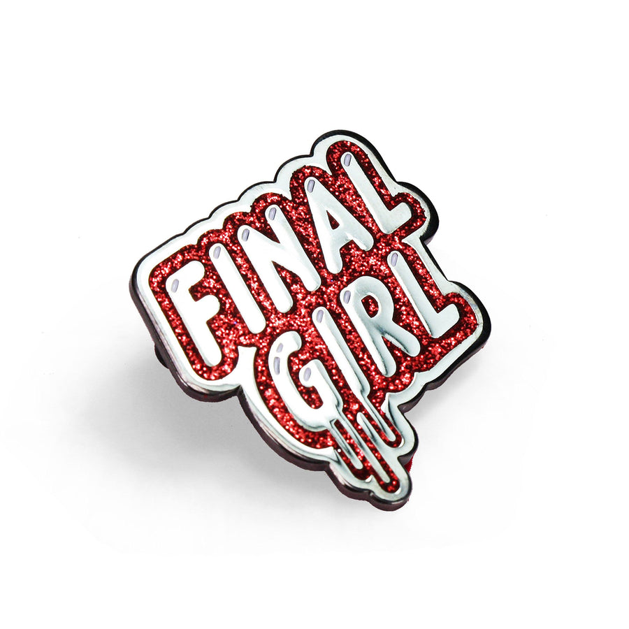 Final Girl Enamel Pin - Creepy Co.