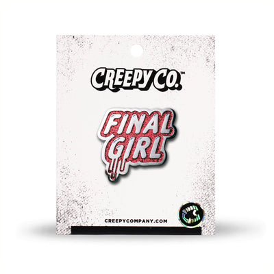 Final Girl Enamel Pin