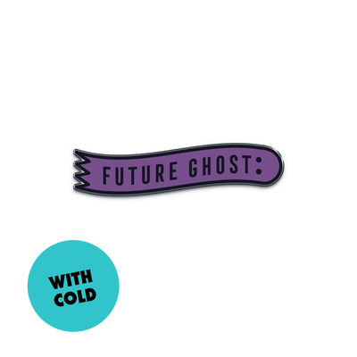 "Future Ghost™ Color Changing ""Ghost Detector"" Enamel Pin - Creepy Co."