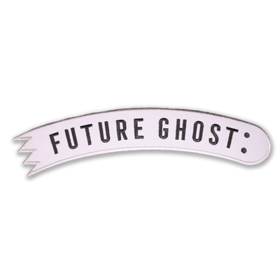 Future Ghost™ Reflective Back Patch - Creepy Co.