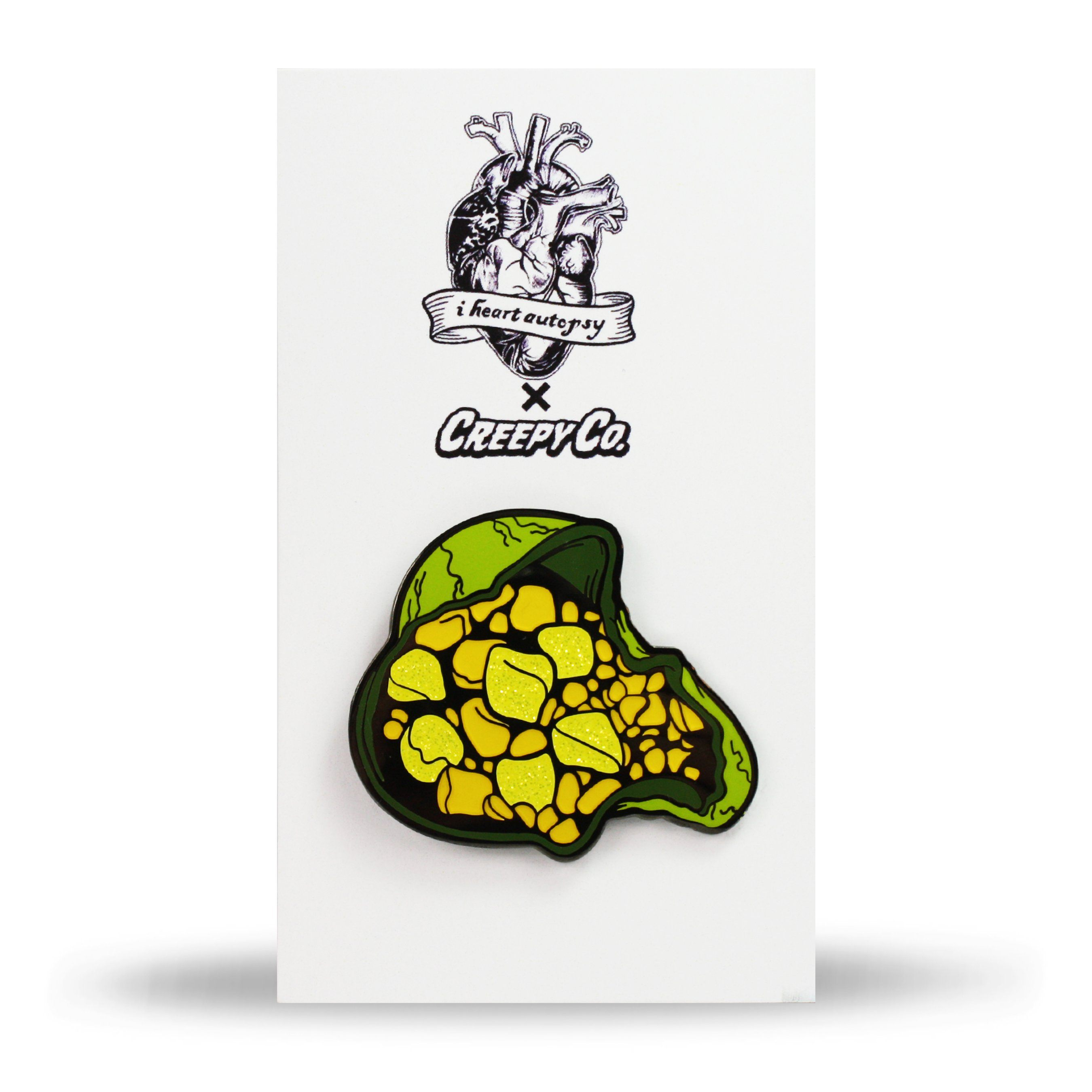 Gallbladder With Gallstones Enamel Pin