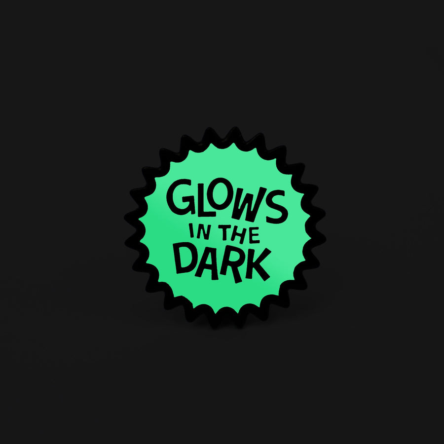 Glows in the Dark Enamel Pin