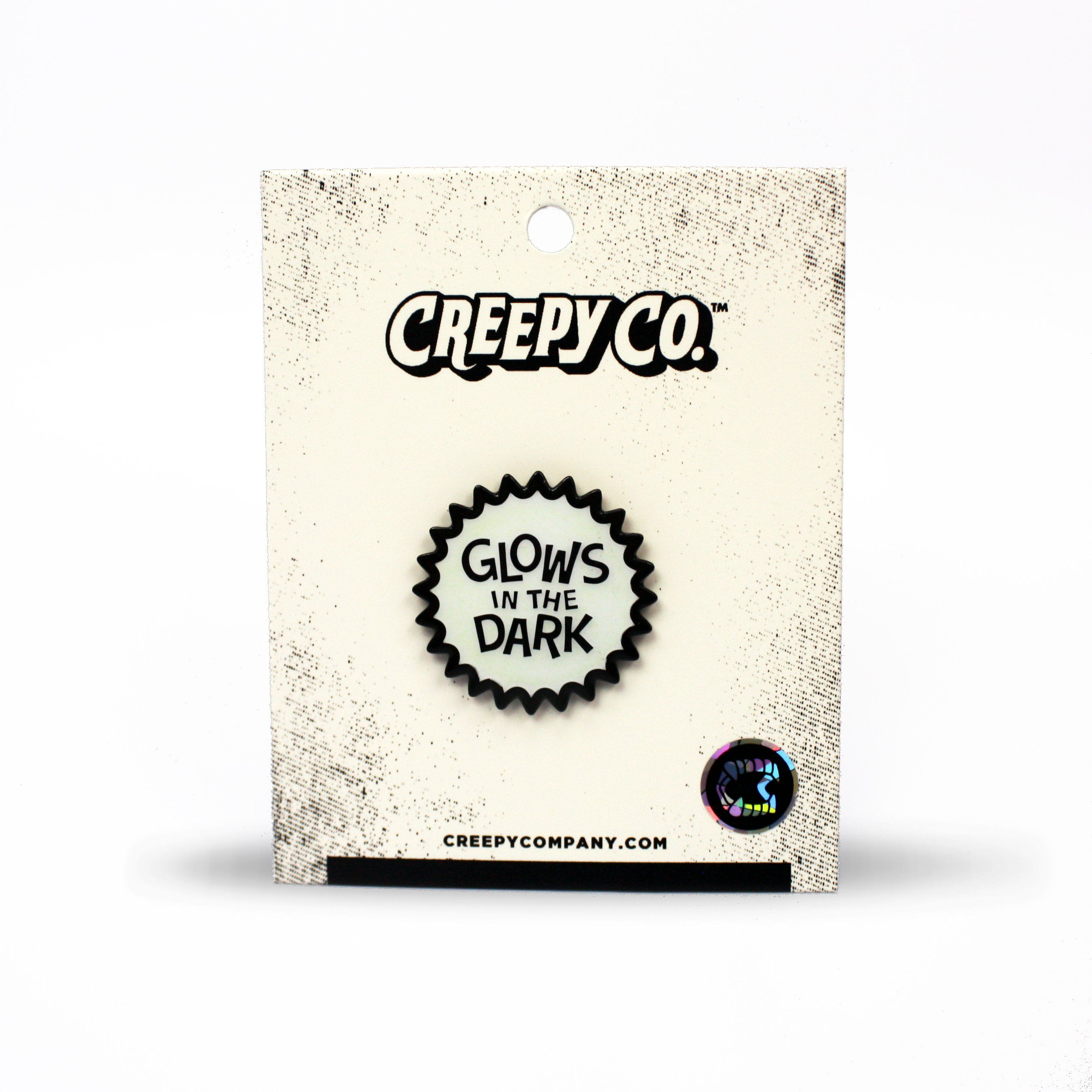 Glows in the Dark Enamel Pin - Creepy Co.