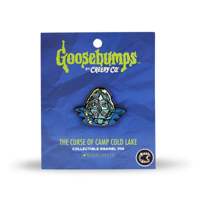 Goosebumps® Camp Cold Lake Enamel Pin
