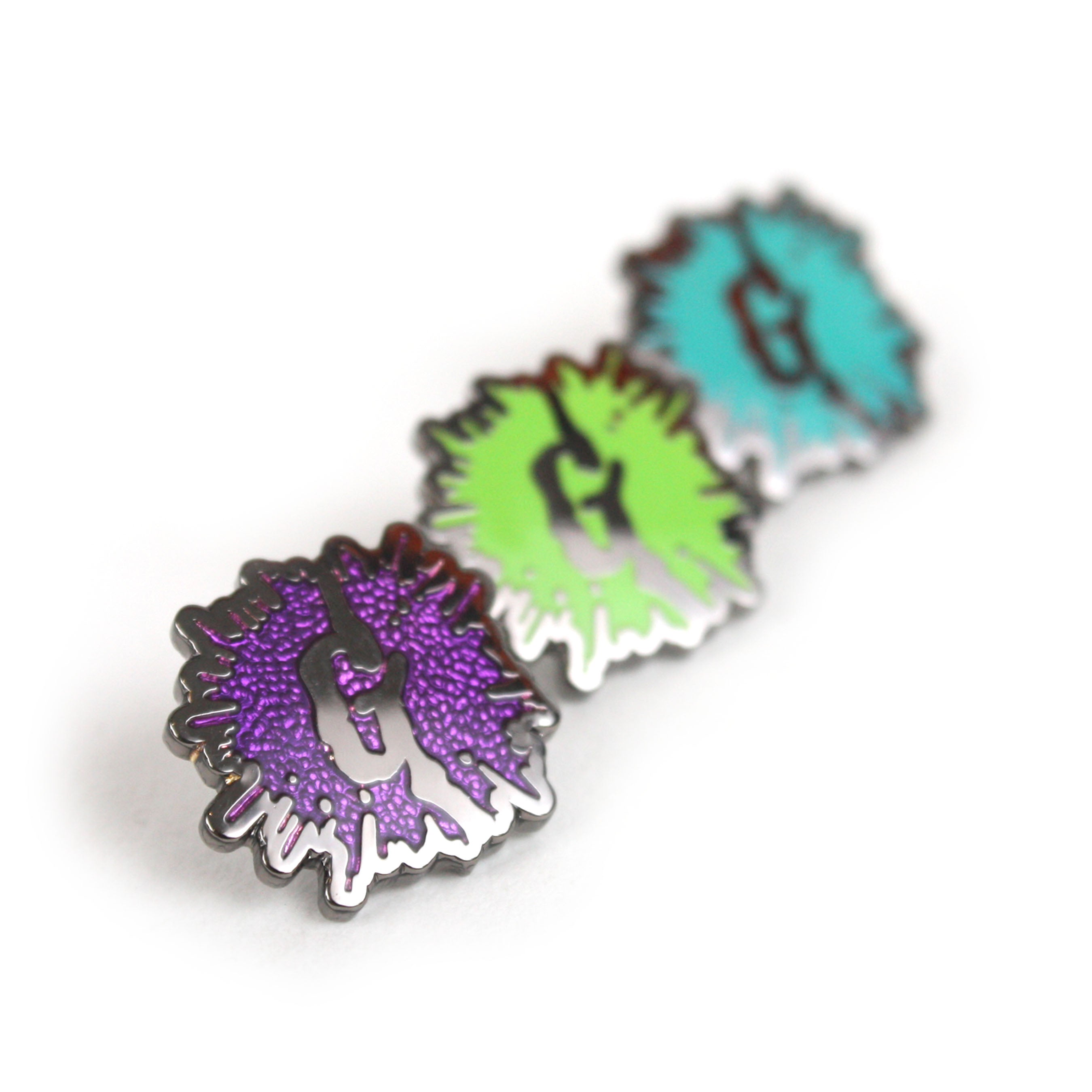 Goosebumps Splat! Enamel Pin Set