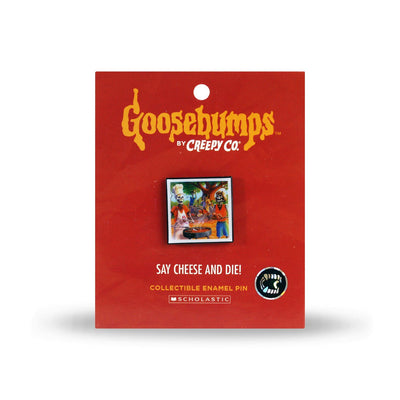 Goosebumps® Say Cheese and Die! Lapel Pin