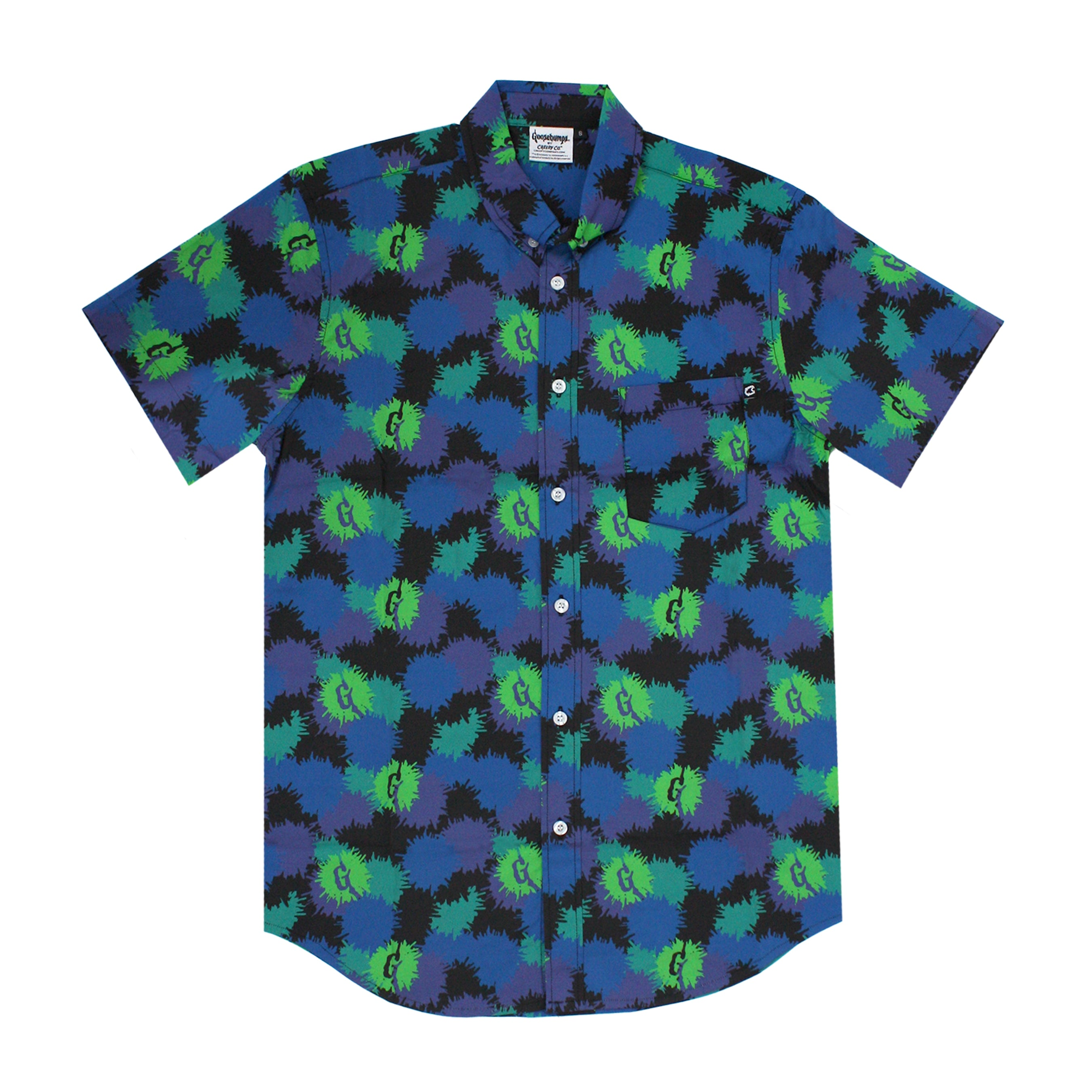 Goosebumps® SPLAT! Button-Up Shirt