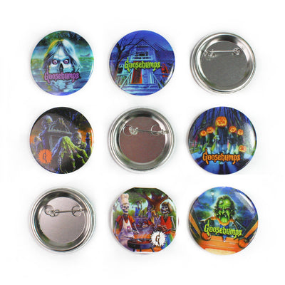 Goosebumps® 6-Button Set: Series 1