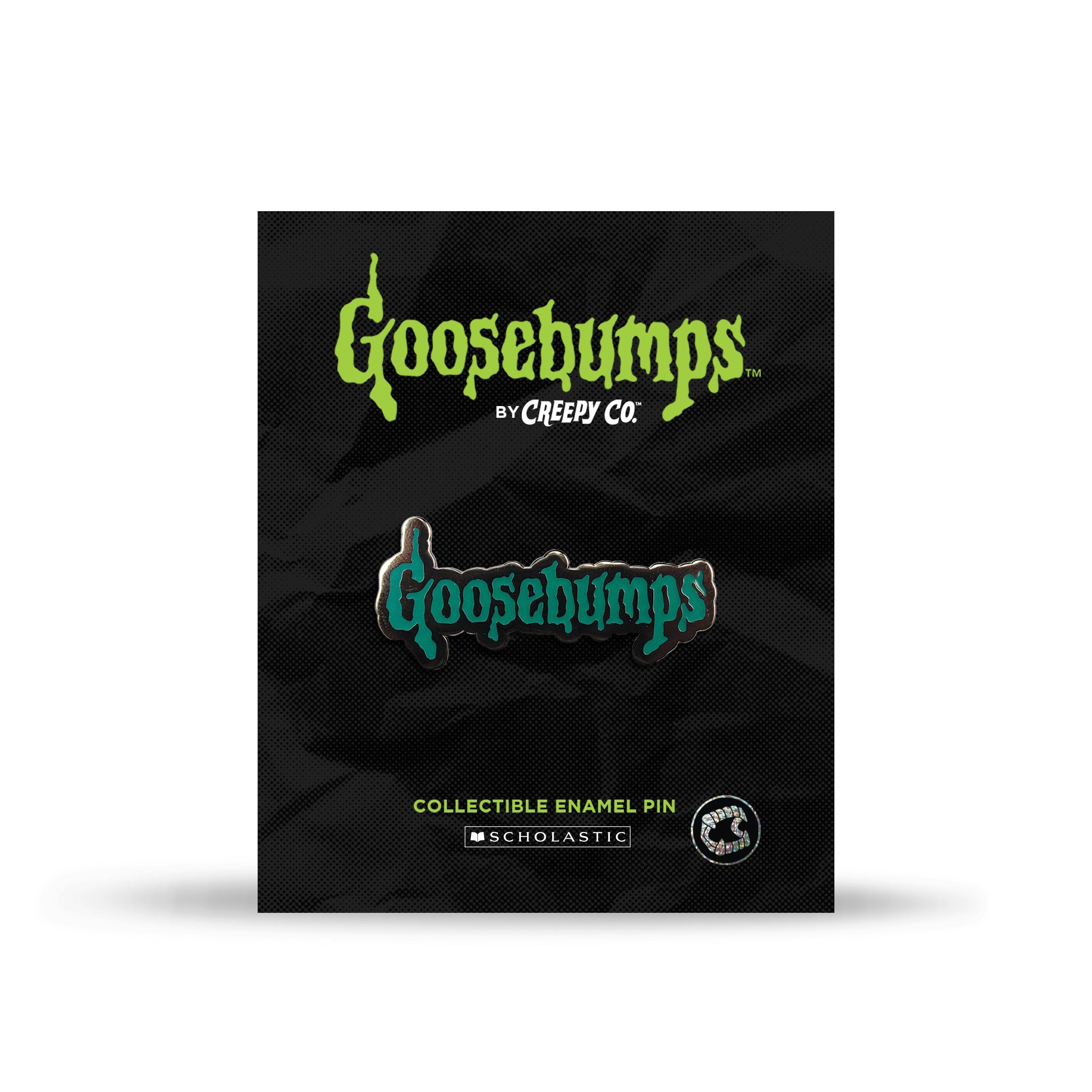 Goosebumps™ Logo Enamel Pin - Creepy Co.