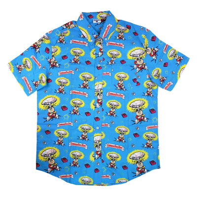 Garbage Pail Kids® Adam Bomb Button-Up Shirt