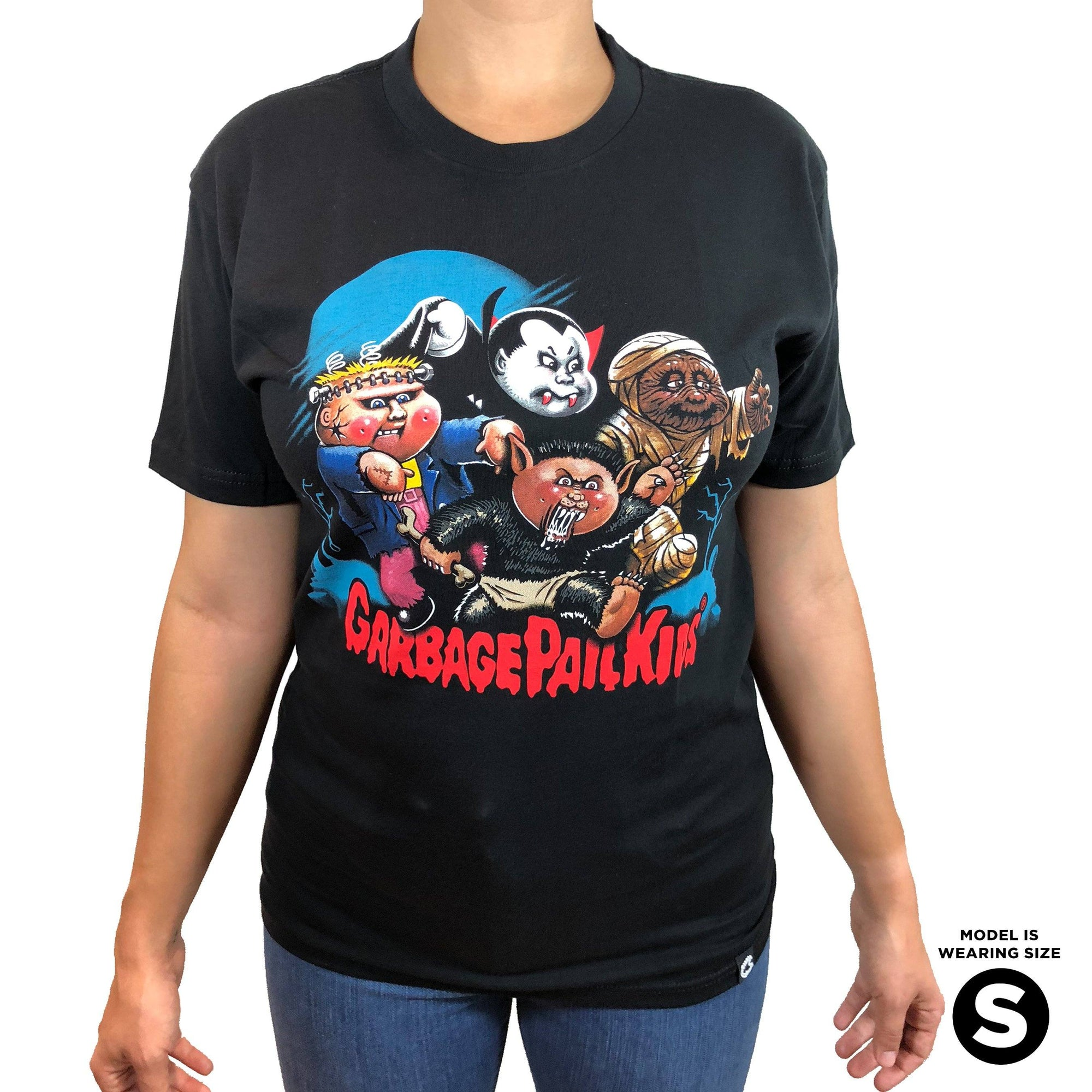 Garbage Pail Kids 174 Monster Squad Tee Creepy Co