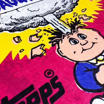 Garbage Pail Kids® Wax Wrapper Throw Blanket