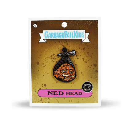 Garbage Pail Kids® Ned Head Enamel Pin