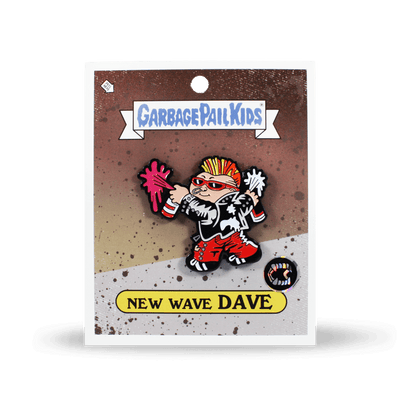 Garbage Pail Kids 174 New Wave Dave Enamel Pin Creepy Co